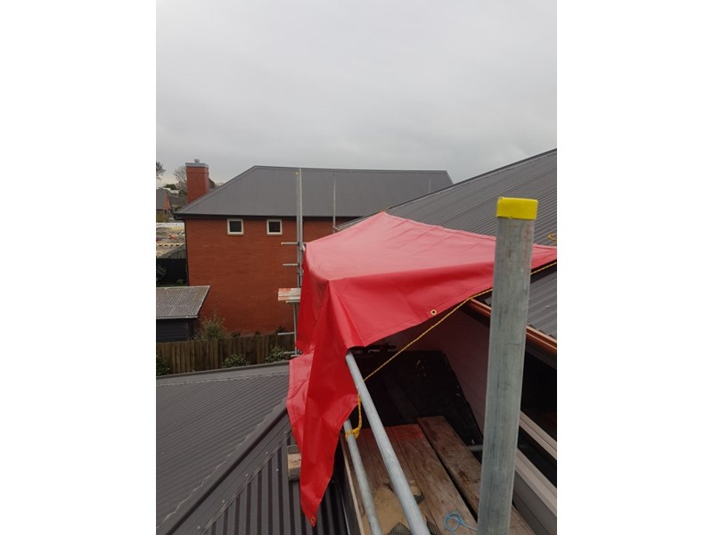 Winter Weather And Exterior work  - some-4-tarp